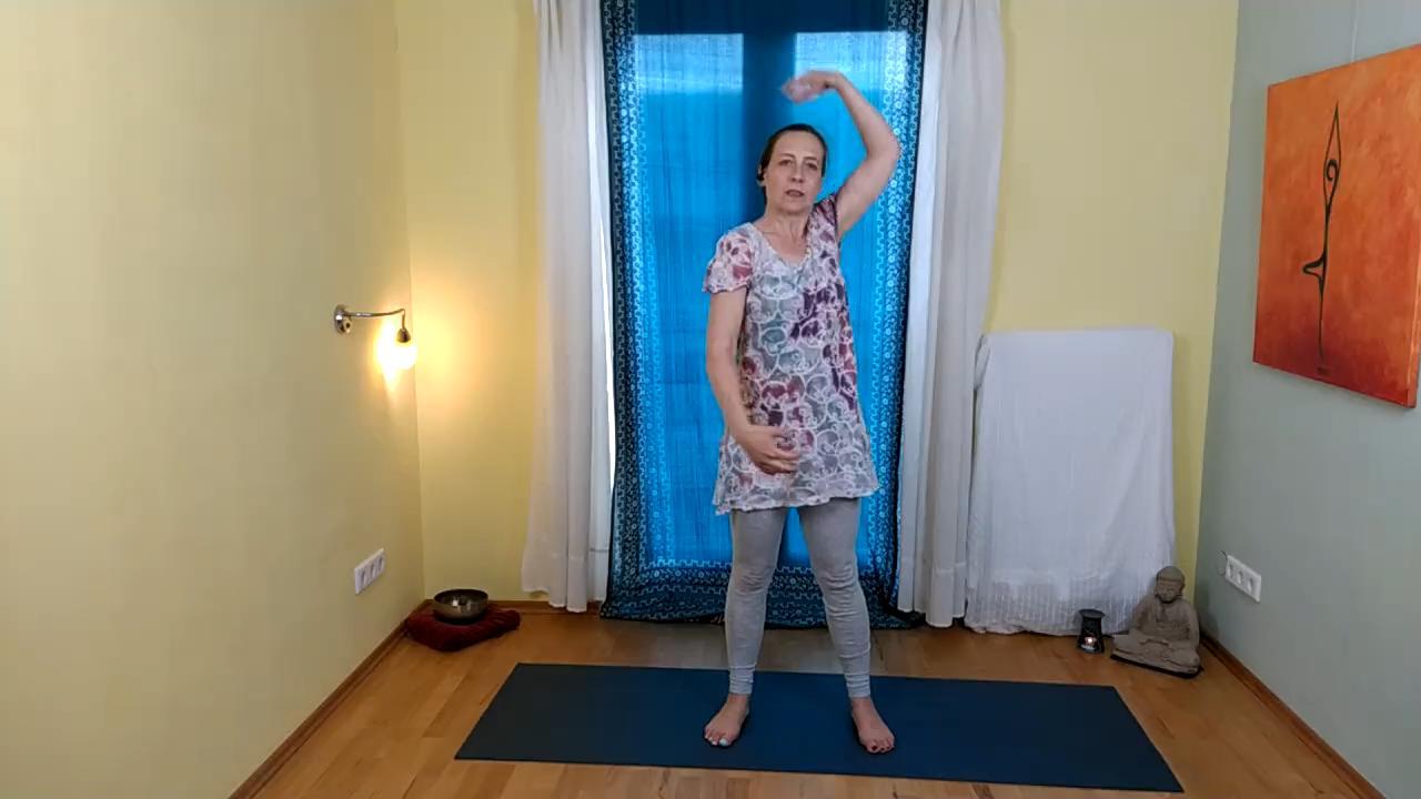 Yoga für Schultern und Nacken