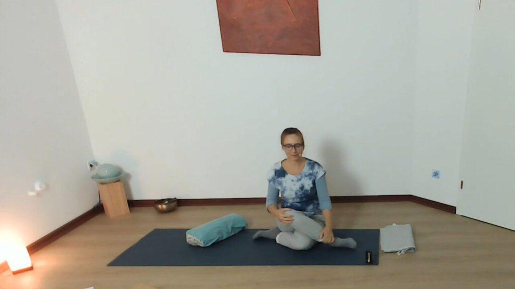 Yin-Yoga für die Wirbelsäule